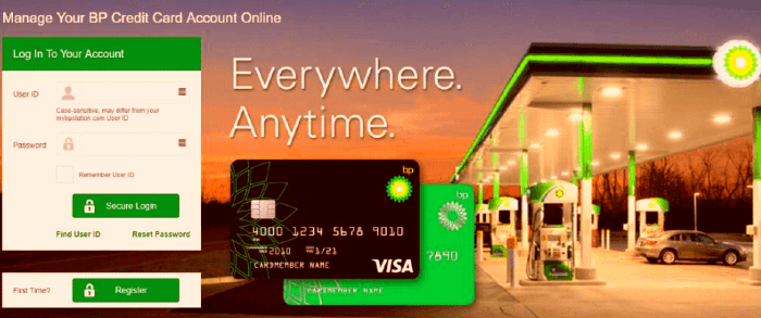 You can login easily to your MyBPCreditCard account by following some simple steps